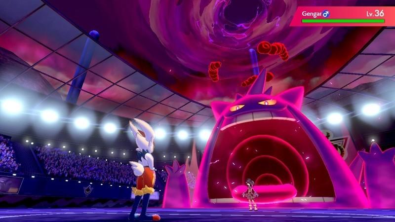 Gengar parece ainda mais assustador em sua forma Gigantamax!