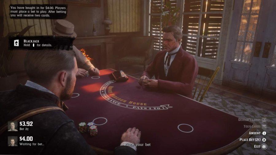Não é fácil ser um caubói apostador.