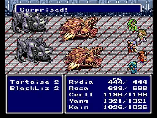 Batalha em Final Fantasy IV