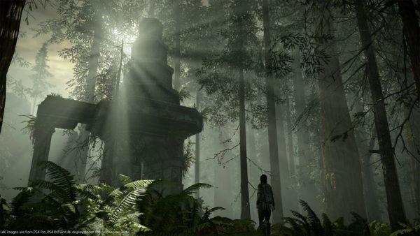 Técnicas mais modernas de iluminação e sombras intensificam a atmosfera do remake.