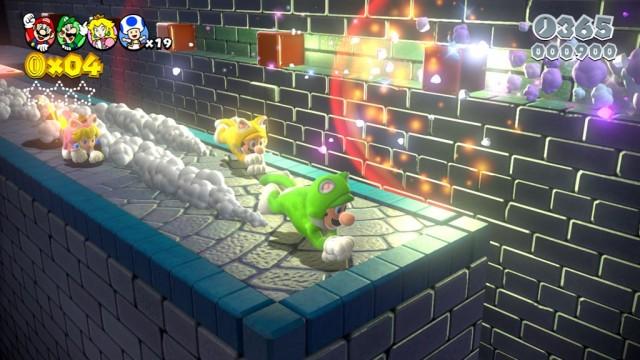 A versão de Switch nos permite cooperar via internet, conectando nosso mundo com jogadores e jogadoras online.