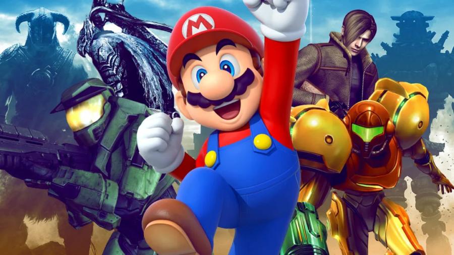 """Imagem ilustrativa do artigo """"Os 100 melhores jogos de todos os tempos"""". Fonte: IGN."""