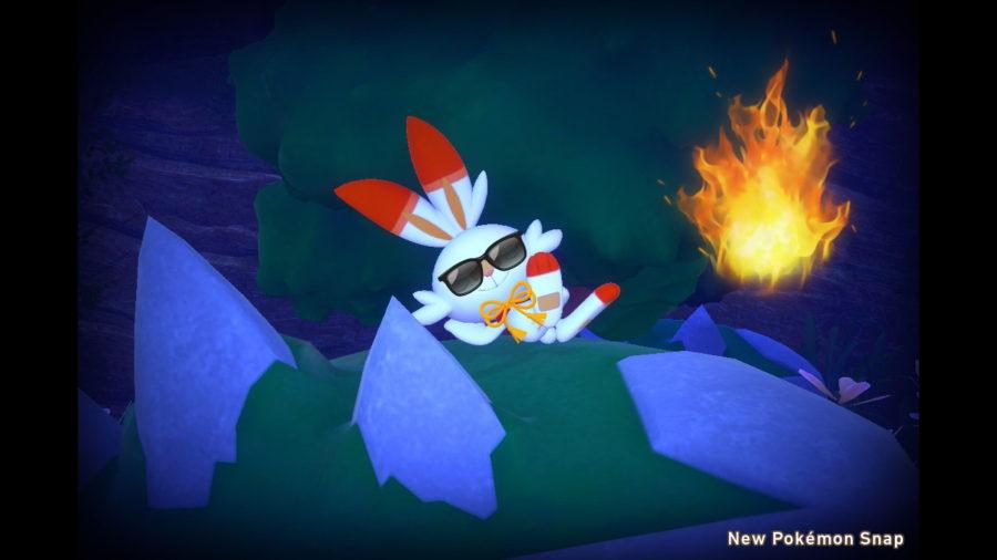 scoburnny new pokemon snap
