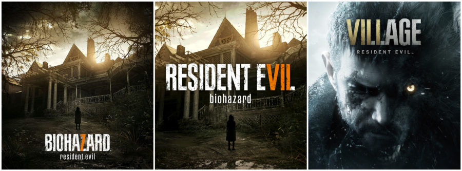 O jogo de letras e algarismos ainda existe em Resident Evil Village, mas o título oficial não possui qualquer menção a 8 ou VIII.